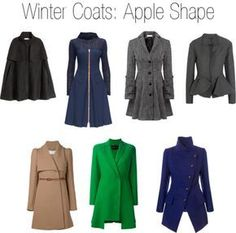 Winter coats for apply body shape