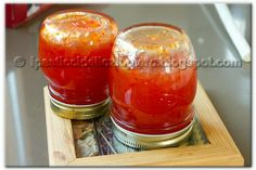 Marmellata piccante ai peperoncini tondi