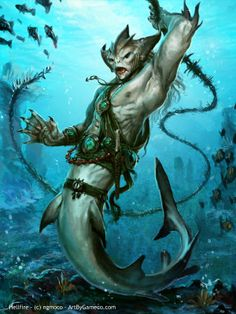 In the Kingdom of Xiachain, the merfolk have a more warrior based culture than…