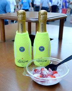 Wimbledon - Lanson champagne and strawberries and cream