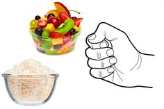 Fist = Fruits and Grains #healthyeating
