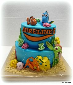 Finding Nemo cake by marja