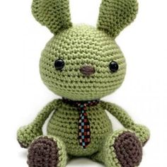 Wasabi the Bunny amigurumi pattern by Little Muggles