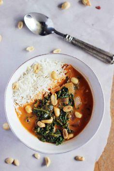African Peanut Soup - a simple vegan meal