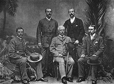 """Emin Pasha Relief Expedition  1886 - 1889.  While not an official action of the British army, several expedition members were serving officers. The fall of Khartoum isolated the Sudanese provence of Equatoria.  The British had little interest in annexing the province, so a private expedition was mounted to """"rescue"""" the colonial governor, Emin Pasha.  Led by the celebrated explorer Henry Morton Stanley, it was one of the last private expeditions into the interior of Africa in the 19th…"""