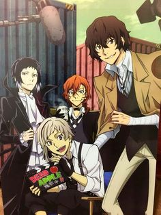Here we have Dazai copying his boyfriend yet again with his coat Bungou Stray Dogs Wallpaper, Dog Wallpaper, Dazai Bungou Stray Dogs, Stray Dogs Anime, Manga Anime, Anime Art, Chibi, Anime Triste, Dog Poster