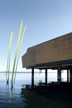 Hotel Palafitte / Lake Neuchatel, France