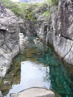 The Heavenly Waterfalls of The Island of Skye