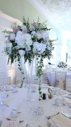 Tall Vases For Wedding Flowers Travel - tall fluted vases Wedding Aisle Decorations, Wedding Ceremony Flowers, Wedding Vases, Wedding Table Centerpieces, Tall Vase Centerpieces, Tall Glass Vases, Vases Decor, Flower Vases, Modern Vases