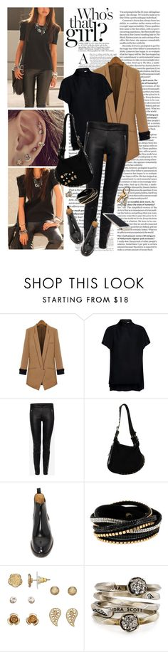 """""""TurnUpTheRadio"""" by reginakos ❤ liked on Polyvore featuring Finders Keepers, Alexander McQueen, Fendi, Marc Jacobs, bleu, LC Lauren Conrad, Kendra Scott, StreetStyle, cool and chelseaboots"""