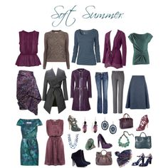 """Soft Summer deeps"" by sabira-amira on Polyvore"