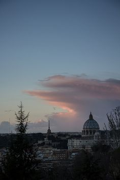 Rome - St. Peter at dusk