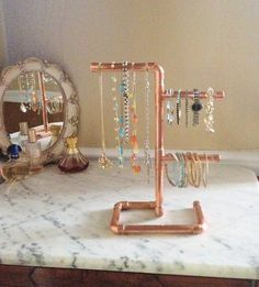 Industrial Design Jewelry Holder Modern Jewelry by MacAndLexie, $75.00