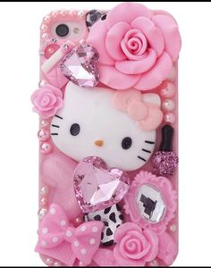 Hello Kitty mobile cover: #mobile #phone #cases #samsung #iphone #HTC #Nexus #cover #design #nokia #iOS7 #Xperia #Sony #galaxy HAVE YOUR SOCIAL MEDIA PROFILES LOOK LIKE MINE icandothing.com