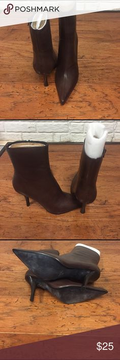 Boots High heeled pointy toes boots (never worn) Nine West Shoes Heeled Boots