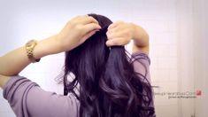 HOW TO WATERFALL ROPE BRAID HAIRSTYLES FOR MEDIUM LONG HAIR TUTORIAL