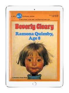 Our favorite childhood books on Epic!: Ramona Quimby, Age 8 by Beverly Cleary