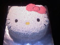 Mom this is the bday cake I want for my 30th bday...I bet u court could make it!! I want a small hello kitty get together! Think we can do that? With just close family and a few friends. We can do it at Chars im sure.