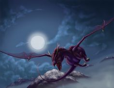 Night Flight by Divinehearts on DeviantArt Dragon Statue, Dragon Art, Chromatic Dragon, Best Titles, Beautiful Dragon, Dragon Pictures, Mythical Creatures, Mythological Creatures, Dragon Slayer