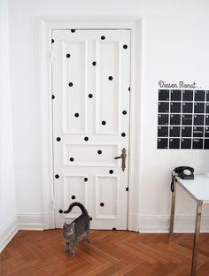 Wandtattoo - Wandtattoo / Sticker / Dots - ein Designerstück von Eulenschnitt bei DaWanda