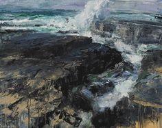 Donald Teskey Ocean Memory II oil on canvas 120 x 150 cm 2015