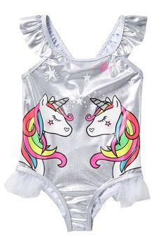 d667fbd5fe23b Unicorn One Piece Swimsuit (Toddler Girls)