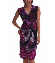 Desigual jurk paars