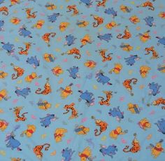 "Handmade Winnie the Pooh Infant Quilt Baby Blanket Disney 62"" x 40""    eBay"