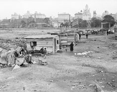 The History of Central Park's Hooverville, the Great Depression Pop-up Shanty…