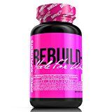 SHREDZ Rebuild-PM Made for Women 60 Capsules 30 Day Supply  Muscle Recovery While You Sleep Sleep Aid Rejuvenate REM Sleep