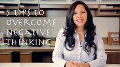 5 Tips to Overcome Negative Thinking  #Negativethinking #Positivity #Motivation #Happiness #Negativeengery #Goals