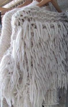 chunky fringed knits