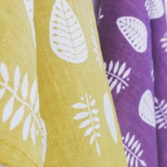 Gail Kelly has a bright and colourful range of linen-union tea towels here in our shop at Space CRAFT, they are perfect to add that handmade touch to any kitchen!