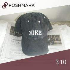 a07b1560 Nike cap Nike cap black with adjustable back nice old school Nike. Nike  Accessories Hats