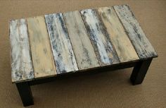 How to Make DIY Pallet Wood Rustic Coffee Table   My Home Decor Guide #palletcoffeetables