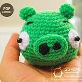Angry Birds Pig - Amigurumi Pattern