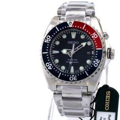 Seiko Men Watch Kinetic Diver 5M62 Box Warranty SKA369P1 | eBay