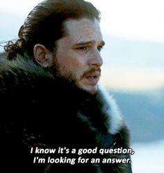 Jon Snow (7x3) game of thrones gif season 7 episode 3. Kit Harington