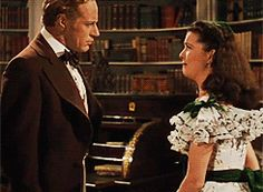 GIFs of Scarlett O'Hara slapping people 4 Gifs, Victor Fleming, Sam Wood, Leslie Howard, Big Screen Tv, Vivien Leigh, Gone With The Wind, Entertaining, Film