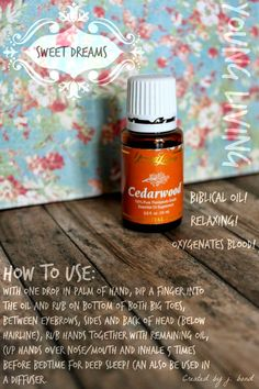 Please check out my new site, wallflowerwellness.com! Are you looking for deep, restful sleep? Cedarwood essential oil from Young Living is a safe and effective alternative to sleep meds which can harm your body! Cedarwood has no side effects, and you'll wake up feeling refreshed and well rested!