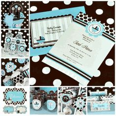 It's a Boy - Baby Shower Party Kit