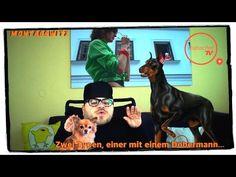 MontagsWitz — Zwei Typen, einer mit einem Dobermann - YouTube