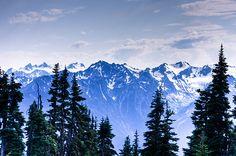 Olympic Mountain Range | Flickr - Photo Sharing!
