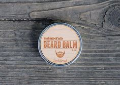 Beard Balm - All Natural Organic Beard Grooming and Facial Care Handmade