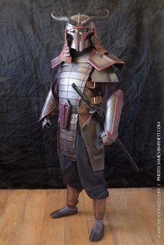 Incredible STAR WARS Boba Fett Samurai Armor - News - GeekTyrant