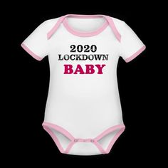 Lockdown babies 👋 This bodysuit is made with organic cotton for a natural, breathable and soft short-sleeved outfit made especially for your little ones 🥰 Soft Shorts, Baby Bodysuit, Rib Knit, Organic Cotton, Heather Grey, Contrast, Dressing, Babies, Free Shipping