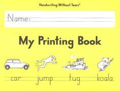 My Printing Book Student Workbook Grade 1, Updated Edition   -