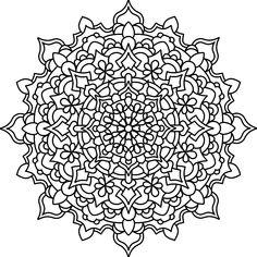 Mandala 741, Design7 mandala