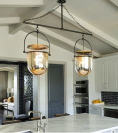 Lanterns from Electric Lighting Company.