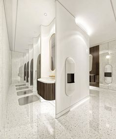 Captivating public bathroom design ideas 38 - It's possible to create a playful .- Captivating public bathroom design ideas 38 – It's possible to create a playful … Captivating public bathroom design ideas 38 – It's… - Wc Design, Toilet Design, Bath Design, Best Bathroom Designs, Bathroom Interior Design, Steam Showers Bathroom, Bathroom Toilets, Wc Public, Commercial Toilet